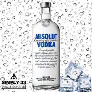 Simply 33 - Absolut Blue delivery in Prague