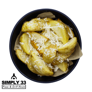 American potatoes with parmesan