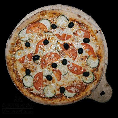 Simply 33 - Vegetariano Zucchini pizza