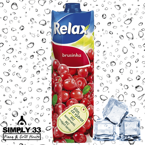 Simply 33 - Cranberry Juice Relax 1l