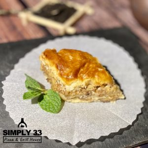 Simply 33 - Honey baklava