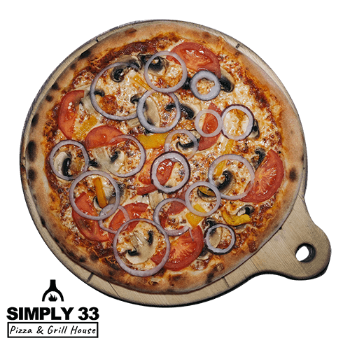 Simply 33 - Vegetariana Pizza