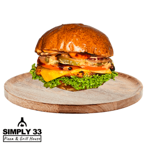 Simply 33 - Chicken Burger