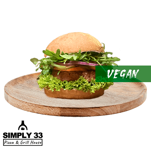Simply 33 - Green Vegan Burger delivery in Prague
