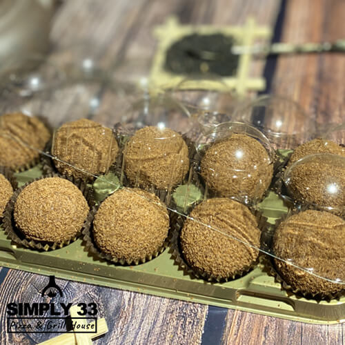 Simply 33 - Honey nuggets with cocoa 10 pcs