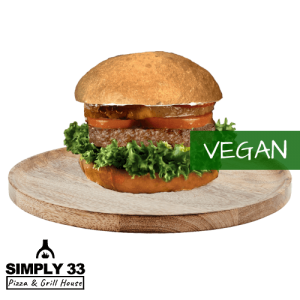 Simply 33 - Pineapple Vegan Burger