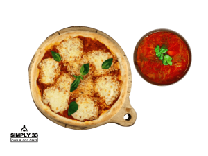 Combo Menu (Italian Margherita, Borsh)