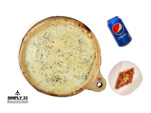 Combo Menu (Quattro Formaggi Pizza, Honey Baklava, Pepsi 0,33L)